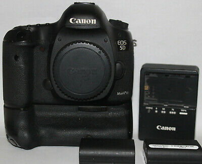 Canon EOS 5D Mark III 3 22.3MP Digital SLR Camera - Black (Body Only) DSLR