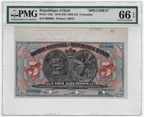 Haiti 1919 ND République d
