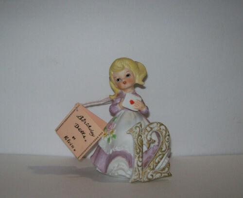 vintage Birthday Dolls by Kelvin 12th Year with tag