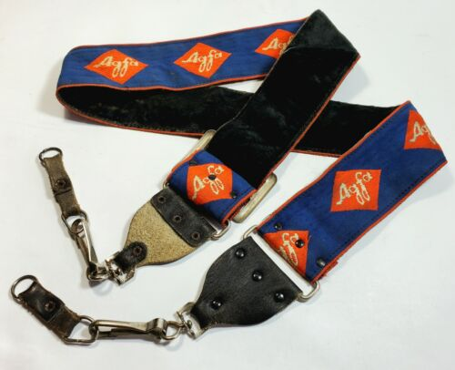 1970 S AGFA ADJUSTABLE VINTAGE CAMERA STRAP - $6.50