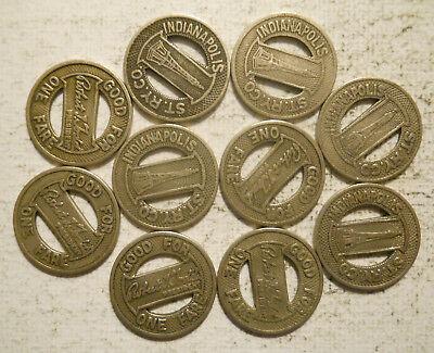 California San Diego Transit Corp. CA745W transit token