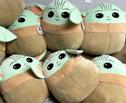 Star Wars Mandalorian Baby YODA ~ Squishmallow 20 Inch XL (NWT)