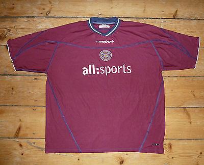 size:3XL Heart Of Midlothian hearts football shirt soccer jersey Jambos 2002-03 image