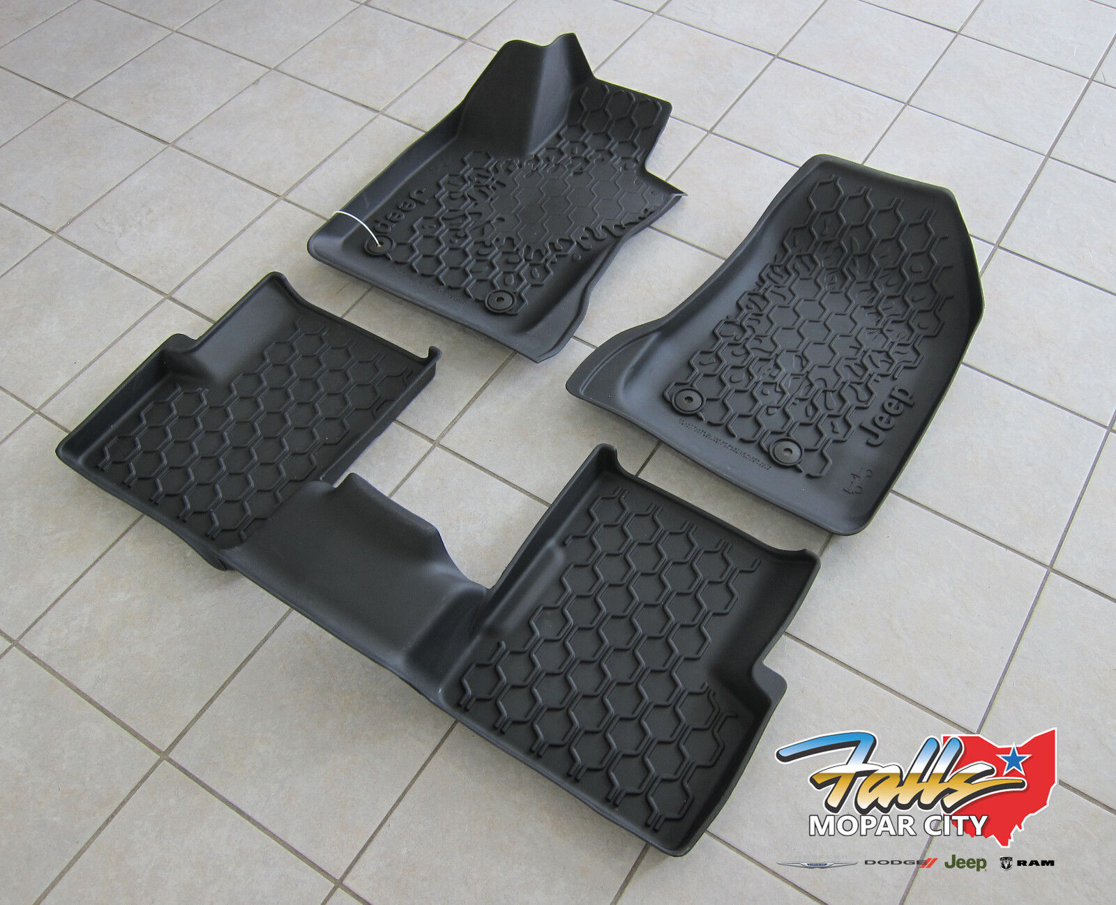 2015 2018 Jeep Renegade Rubber Slush Floor Mats Liner