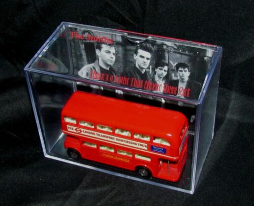 THE SMITHS (Inspired by) DOUBLE DECKER BUS DISPLAY BRAND NEW/Cool gift idea