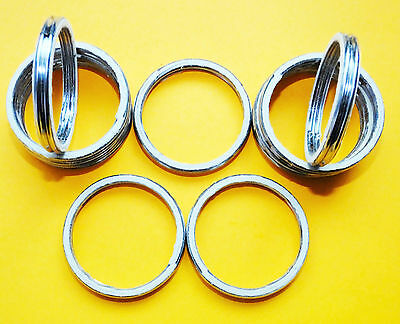 - ALLOY EXHAUST GASKETS SEAL MANIFOLD GASKET RING CX500 Custom Eurosport Turbo A46