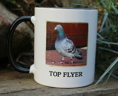 NEW RACING PIGEON TOP FLYER  MUG IDEAL GIFT
