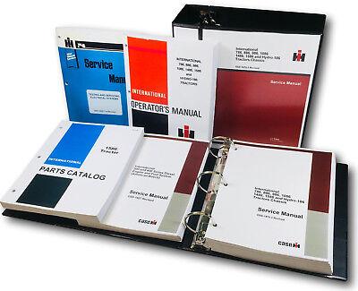 International 1586 Tractor Service Parts Operators Manual Catalog Shop Book Ovhl