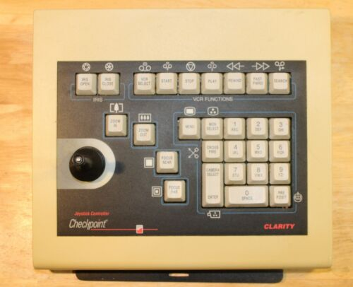 Checkpoint Joystick Keyboard Controller  for Clarity LCD PTZ  Camera Control
