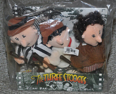 The Three Stooges Golf Theme Bean Bag Collectibles ](Three Stooges Golf)