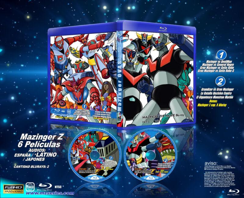 MAZINGER THE MOVIE Blu-ray Espanol, latino y japones
