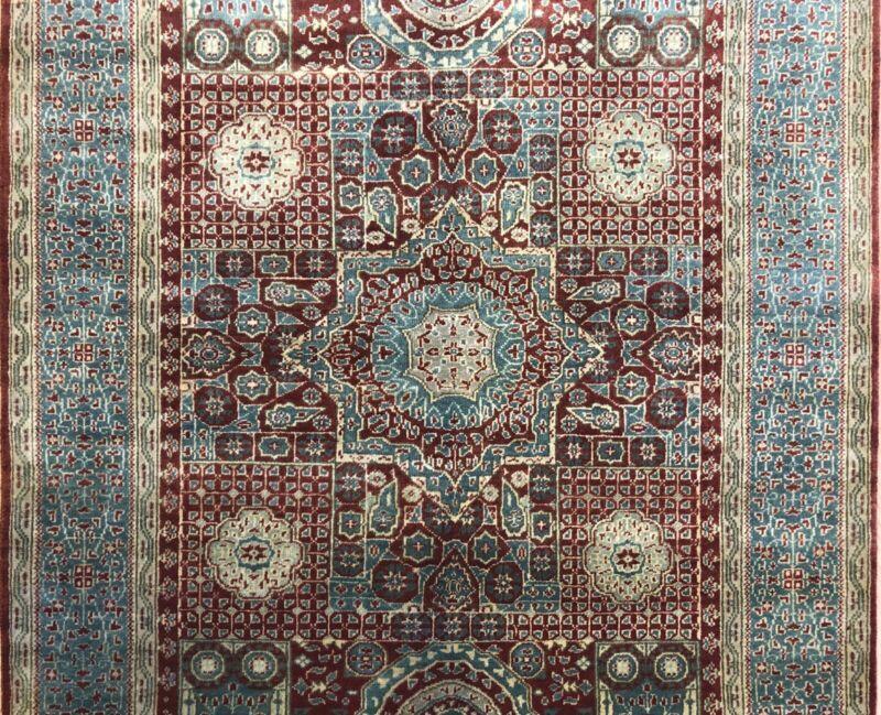 Magnificent Mamluk - Egyptian Indian Wool Rug - Oriental Carpet - 4 X 6 Ft.