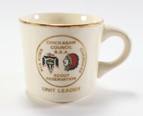 Vintage Unit Leader Kia Kima Cherokee BSA Boy Scouts of America Coffee Mug Cup