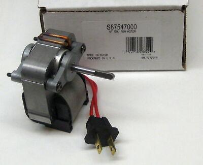 Broan Nutone Fan Motor S-87547000 C-87547 Sp-61k20