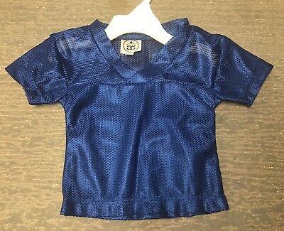 Blank Spirit Jersey (Infant 18 Months Blank Blue Halloween Costume Football Spirit Jersey)