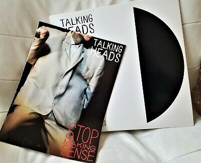 Talking Heads -'84 Pressing Vinyl LP Limited Edition - Stop Making Sense w Book