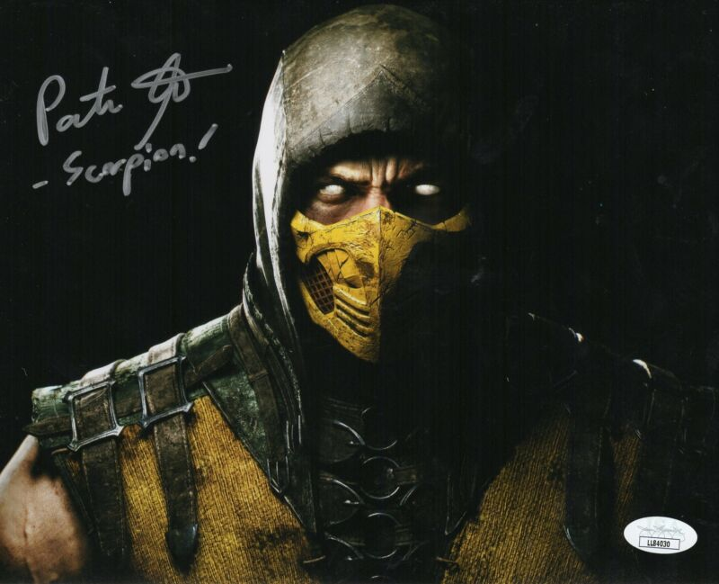 Patrick Seitz Autograph Signed 8x10 Photo Mortal Kombat JSA COA Z1
