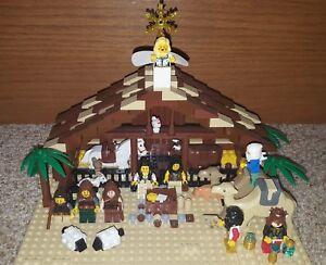 lego nativity ebay
