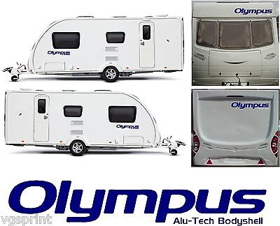 4 X BAILEY OLYMPUS ALU-TECH BODYSHELL DECALS STICKERS CHOICE OF COLOURS #009