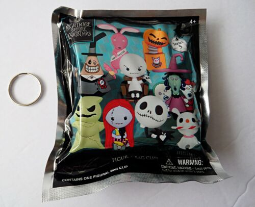 Nightmare Before Christmas Series 5 Collectible 3D Figural Bag Clip (Blind Bag)