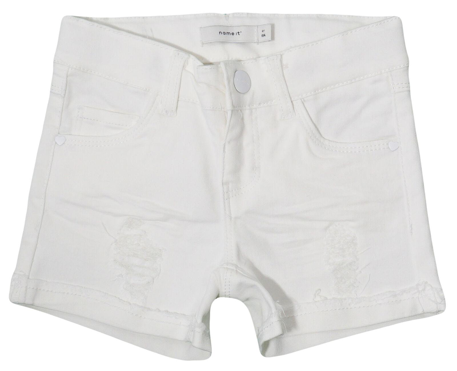 Name It Kids Jeans SHORTS Mädchen Shorts kurze Hose Pants