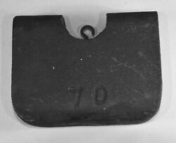 Weight for Howard #70 Clock, also Chelsea, Eastman, Etc.  Cast Iron