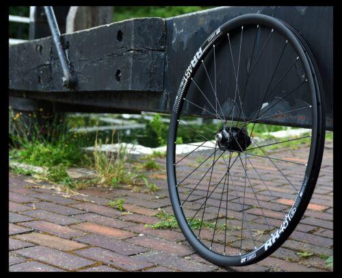 HANDBUILT wheel SON Schmidt 28 CL/ DT Swiss RR481 / Sapim Race black/ NEW!