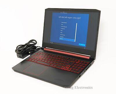 "Acer Nitro 5 AN515-54 15.6"" Core i5-9300H 2.4GHz 8GB 256GB SSD GTX 1050"
