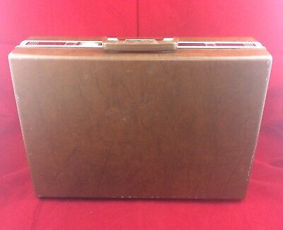 Vintage 1970's Samsonite Classic 100 Briefcase Brown