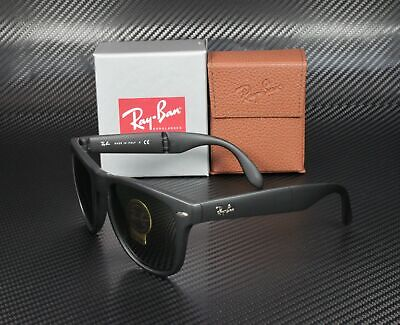 RayBan RB4105 601S MATTE BLACK CRYSTAL GREEN 50 mm Men's Folding (Sunglasses Folding)