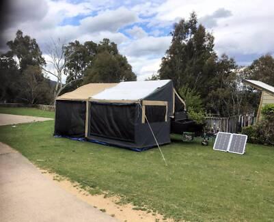 Camper Trailer-Complete Campsite Nomad