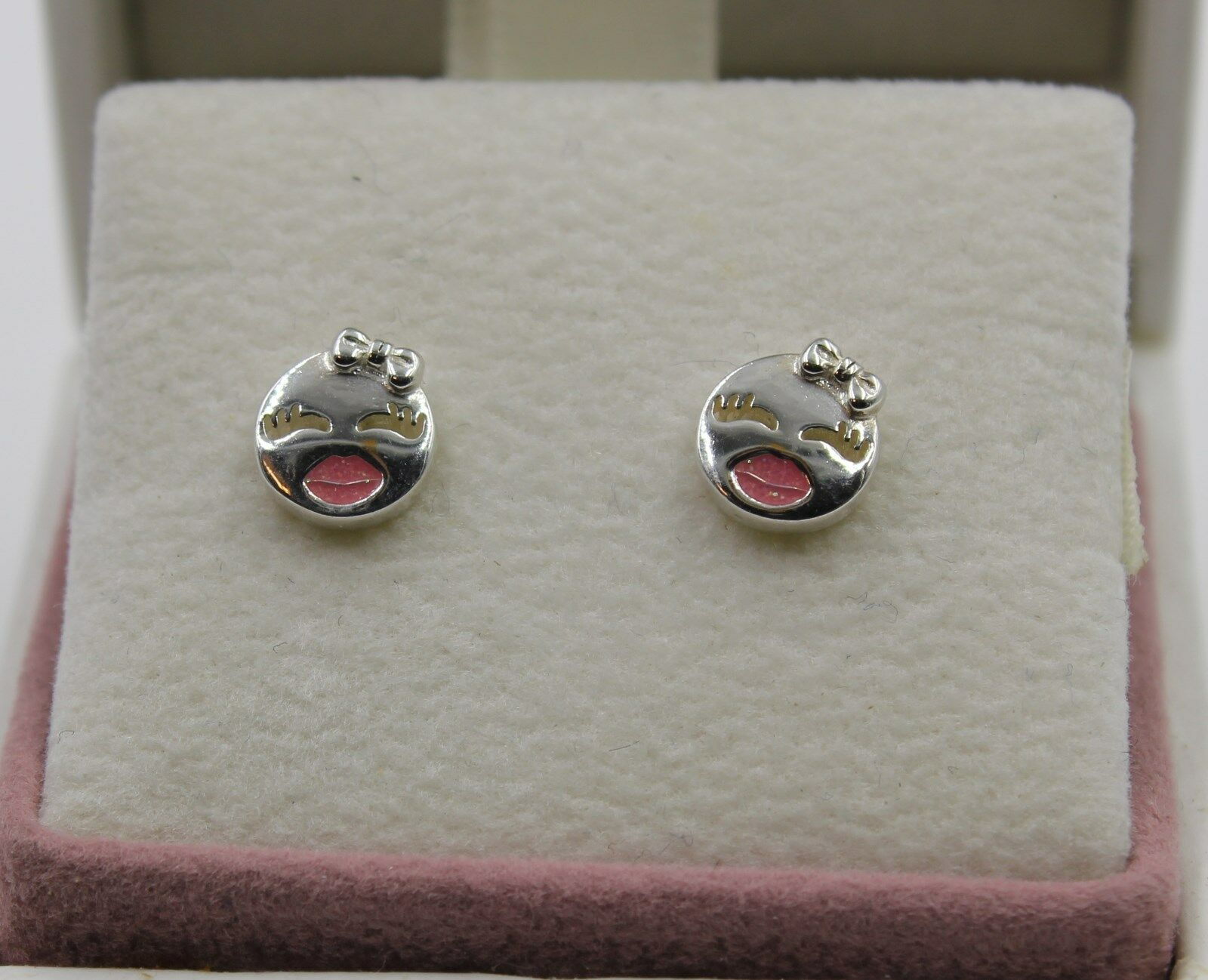 AUTHENTIC PANDORA Playful Wink Stud Earrings 297102EN161 1417 - $19.96