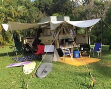 4WD TOYOTA LANDCRUISER CAMPER SET-UP Byron Bay Byron Area Preview