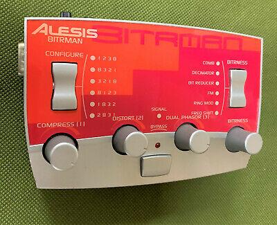 ALESIS MODFX Bitrman ring modulator frequency shift bit reducer mod fx processor