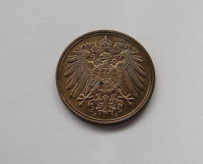 KAISERREICH: 1 Pfennig 1910 J, J. 10, prägefrisch/unc. !!!