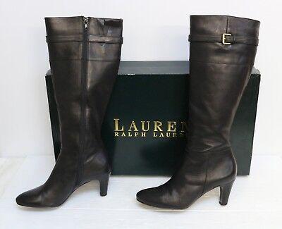 Lauren Ralph Lauren Susie Black Womens Shoes Size 8 B Boots](Susie Boots)
