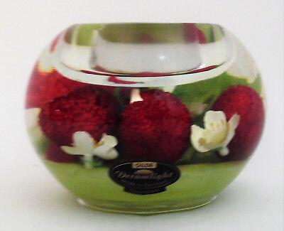 Gilde  Dreamlight Mercur Smart Strawberry Kiss Teelichthalter ()