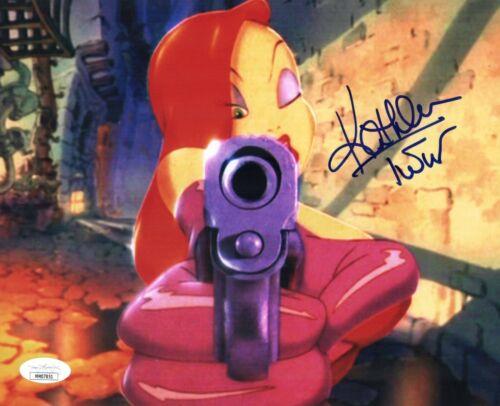 KATHLEEN TURNER Signed ROGER RABBIT / JESSICA 8x10 Photo Autograph JSA COA