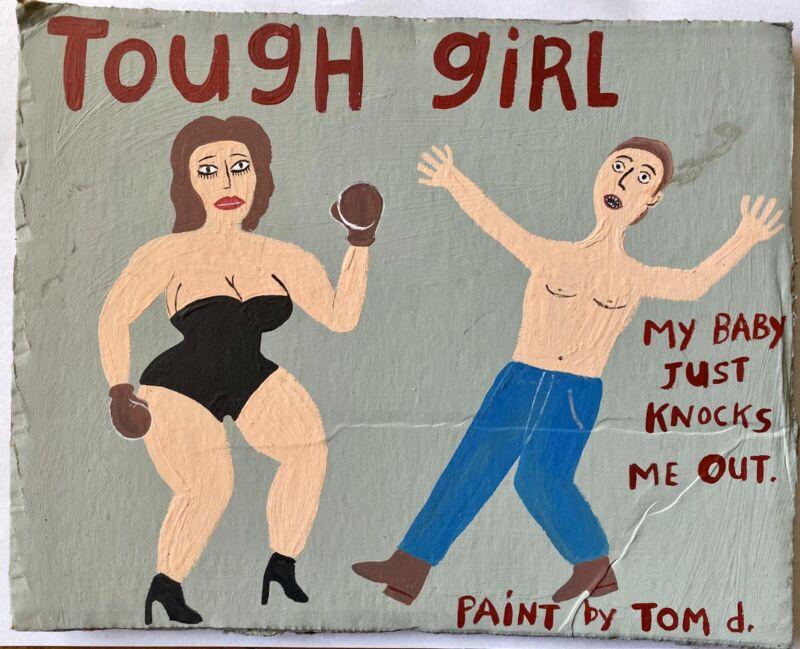 Tom D. Outsider Art Painting