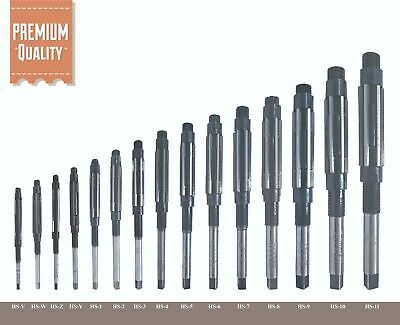 15 Pcs Pieces Set Adjustable Hand Reamer Size Hv To H11 14 To 1.116 Inch