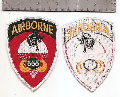 #082 US ARMY 555TH  AIRBORNE INFANTRY REGIMENT PATCH