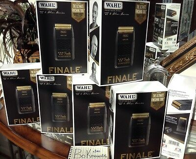 Wahl Professional 5-Star Series FINALE Bump Free Shaver #8164 NEW!, used for sale  Fort Washington