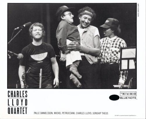 Charles Lloyd, Michel Petrucciani, RARE 8x10 press photo! record label portrait