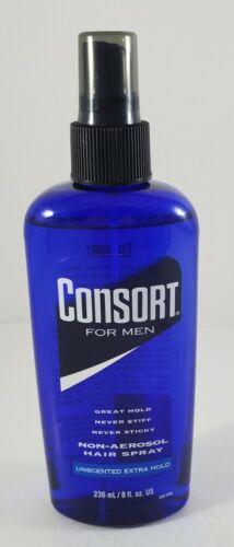 5 Consort for men non-aerosol hair spray 8 fl oz each