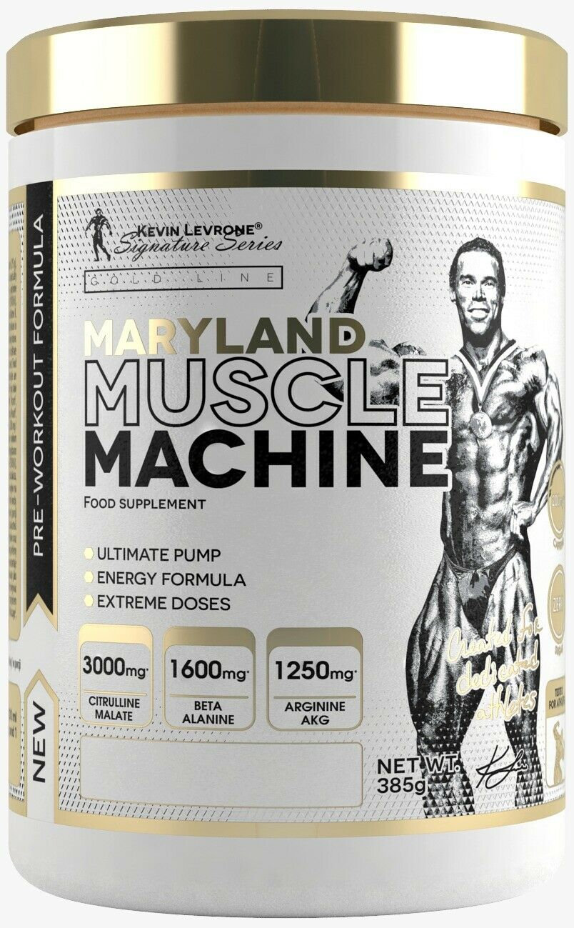 Maryland Muscle Machine | Pre Workout - Hardcore Pump Booster | by Kevin Levrone