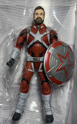 "Marvel Legends Red Guardian Black Widow 6"" Figure Loose No Crimson Dynamo BAF"
