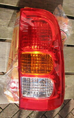 Toyota Hilux 05-11 Right Rear Tail Light Lamp Lens LHD Left Hand Drive Only New