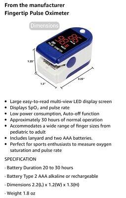 Contec Cms50d Finger Digital Pulse Oximeter Amazing Price
