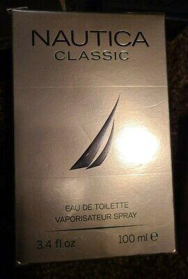Nautica Classic M 3.4oz / 100ml EDT Spray New In Box