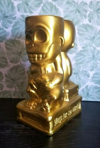 20th Anniversary Muntiki Tiki Mug Gold Limited Edition